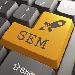 Use search engine marketing (SEM) to drive website traffic