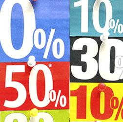 Offering discounts to increase online sales