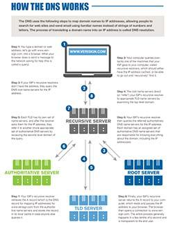DNS 101 Infographic