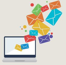 Use email marketing to drive visitors to your website