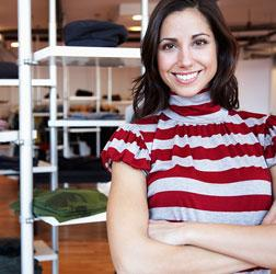 Business owner happy to get her company online