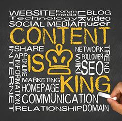 Content marketing: quality and content