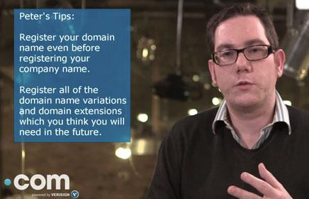 Expert Tip- Why you should register a domain name first
