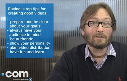 Expert tips: Six tips to create a video for your website