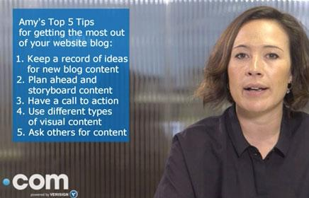 Expert blogging tips – How to make the most of your website blog