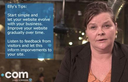 Expert tips: Elly Gray on how to improve a website over time