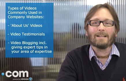 Expert tips - when should I use a web video for business?